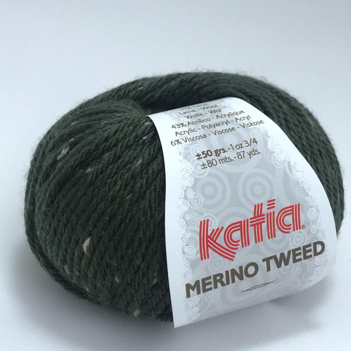 Пряжа Катя Мерино Твид (Katia Merino Tweed)