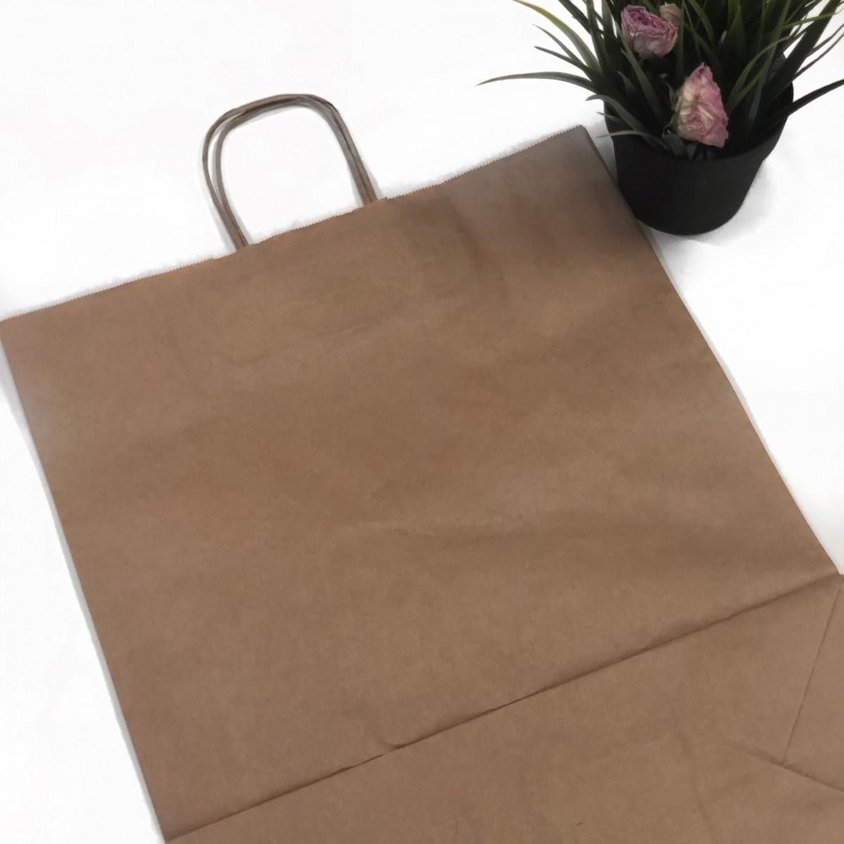 Крафт пакет натуральный 350*150*450