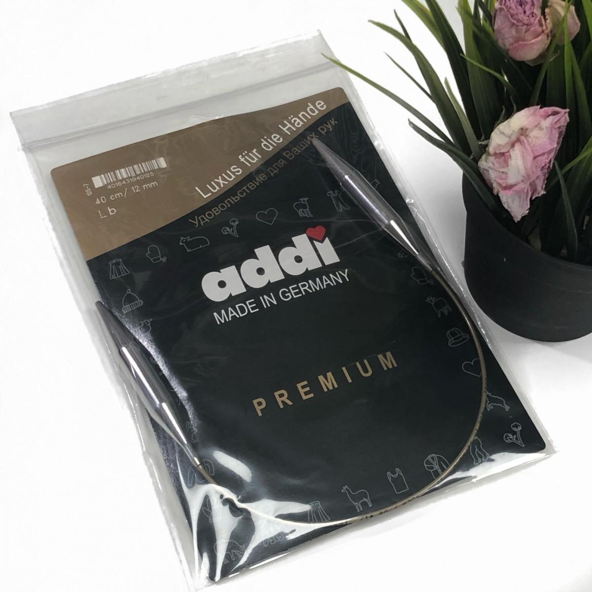 Спицы Адди 12.0 мм леска 40см