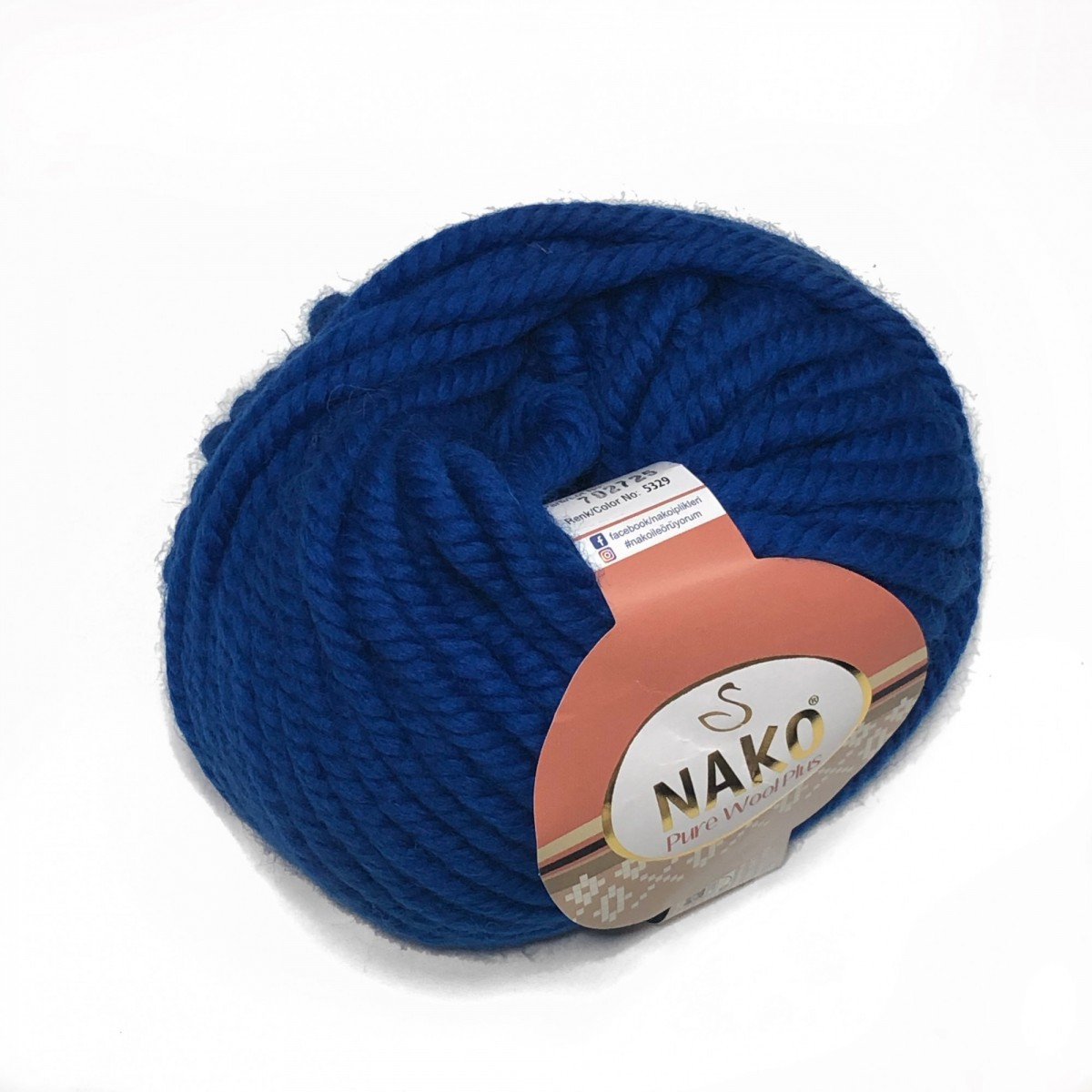 Пряжа Нако Пьюр Вул Плюс (Pure Wool Plus)