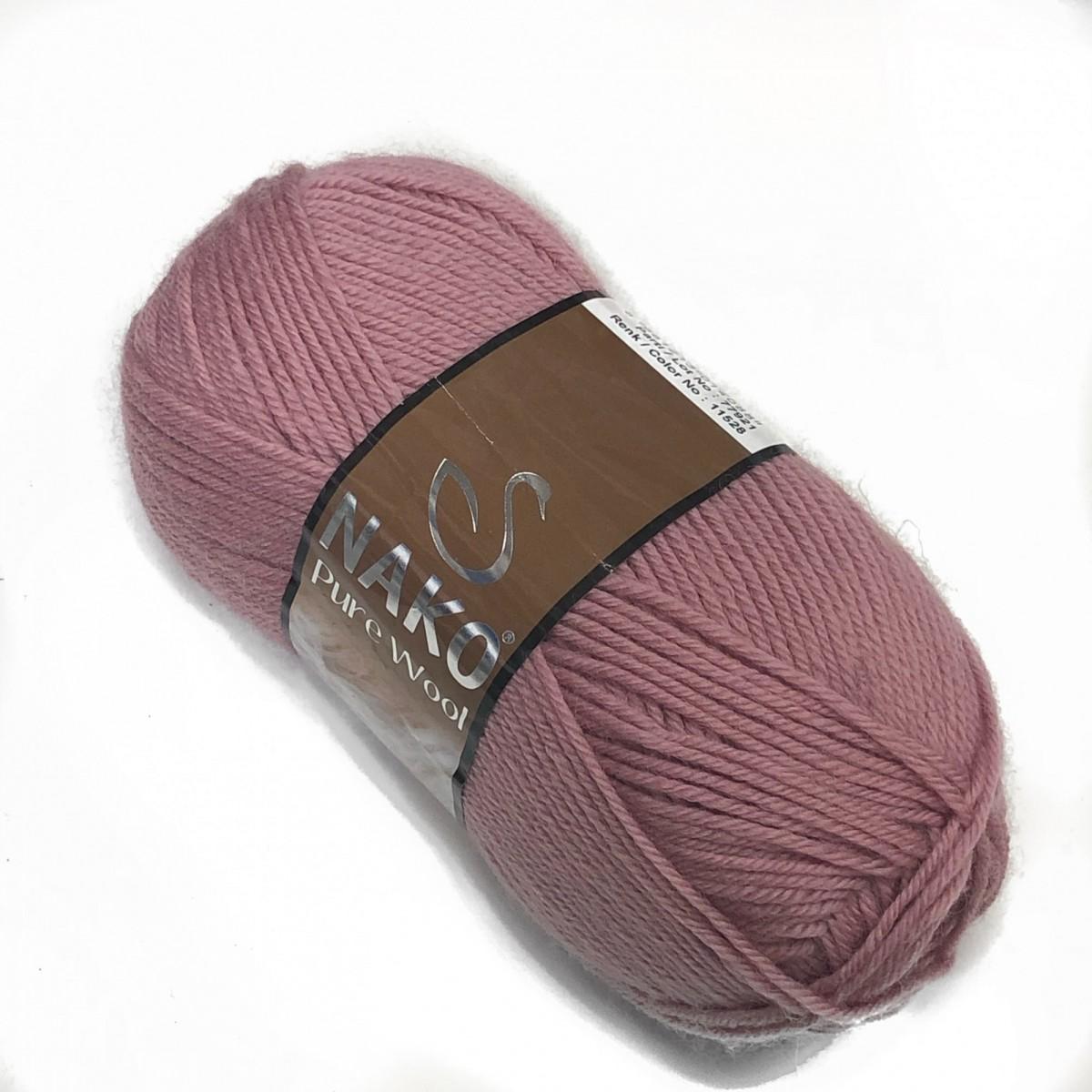 Пряжа Нако Пьюр Вул  (Pure Wool )