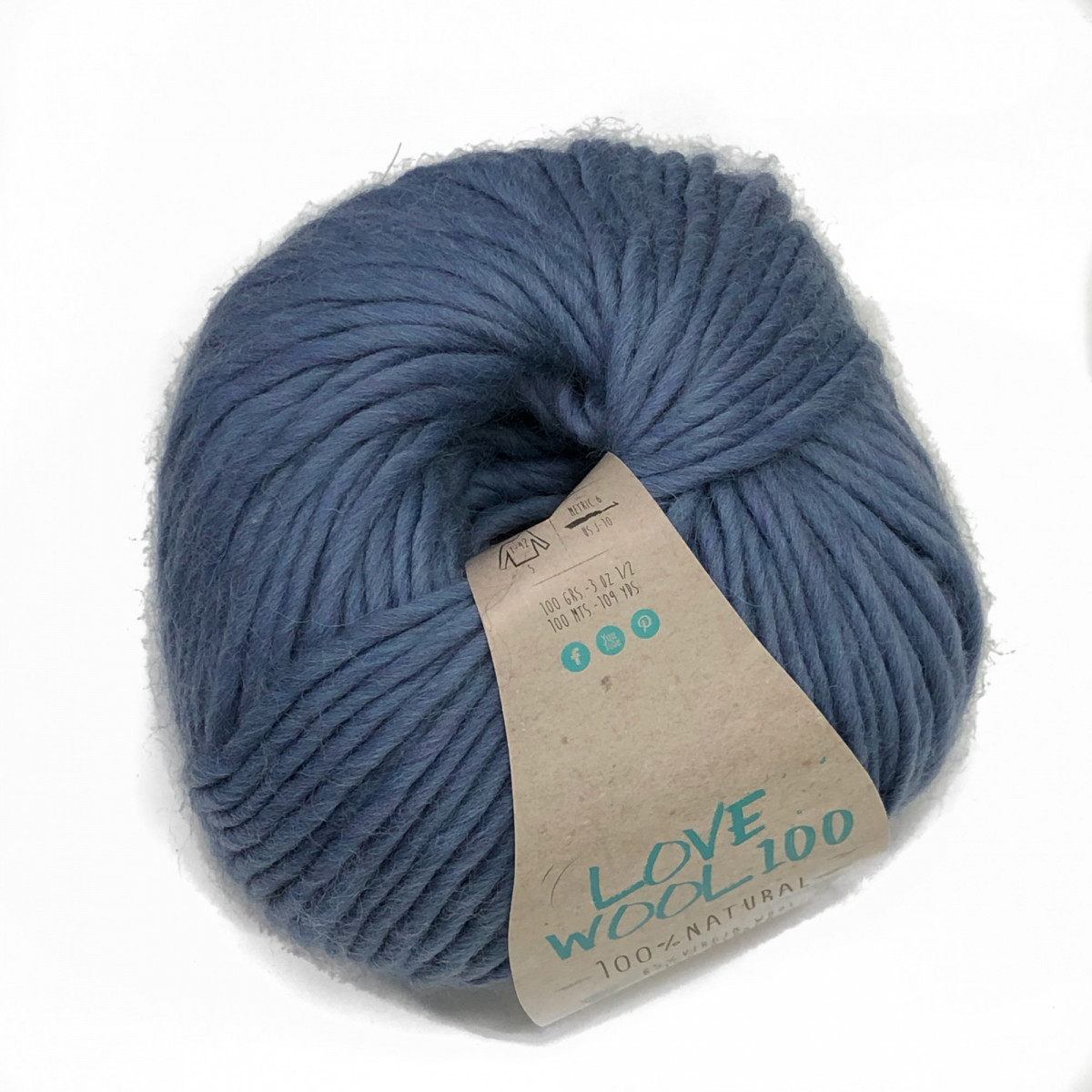 Пряжа Катя Лов Вул 100 (Love wool 100)