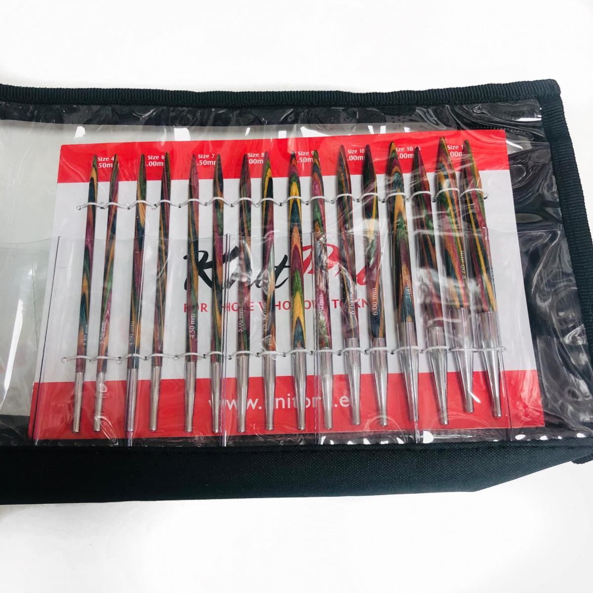 Набор съемных  спиц Книт Про Симфония ( KnitPro Simphony Delux Set)