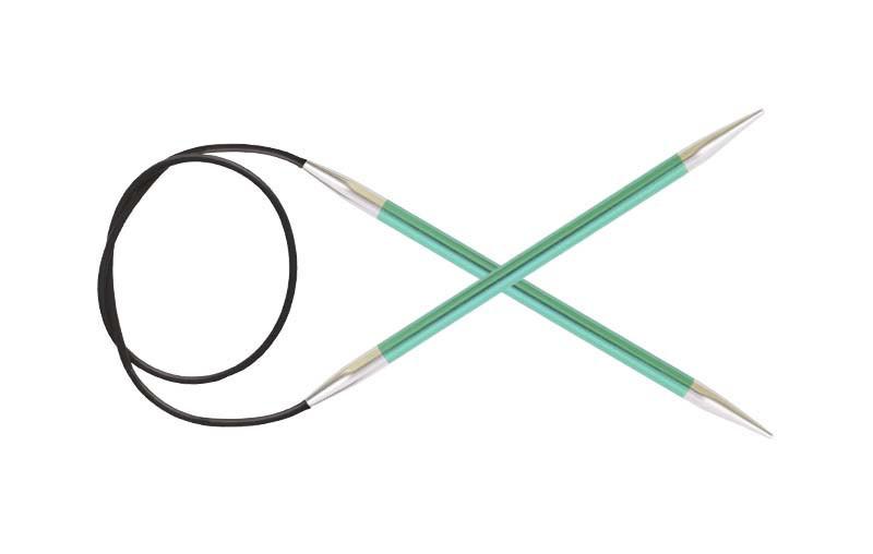 Спицы 5,0 Книт Про Зинг ( KnitPro Zing) леска 80 см