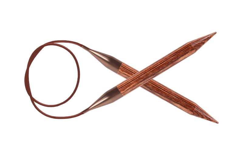Спицы 4.5  Книт Про Джинжер ( KnitPro Ginger) леска 40 см