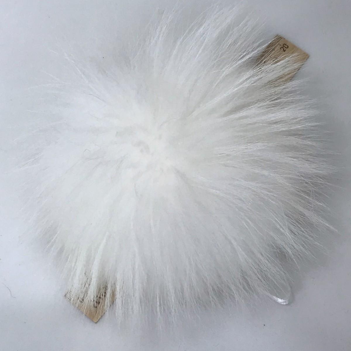 Помпон из натурального меха